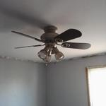 COMPLETED CEILING FAN INSTALLATION - Baltimore, MD